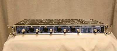 Audiointerface RME Fireface 800 mit Time Code Option - selten benutzt