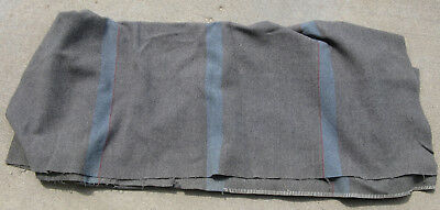WWII Australian Made Bedding Blanket, 1944 Dated Tag