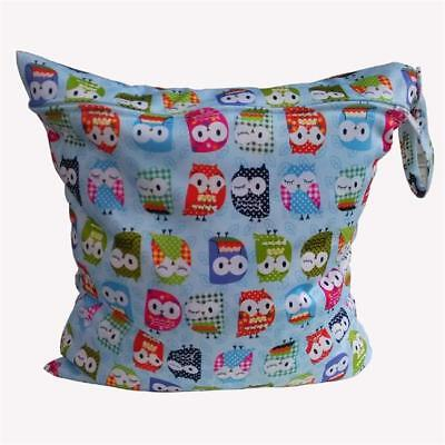 Waterproof Reusable Baby Cloth Diaper Nappy Wet & Dry Bag 6A