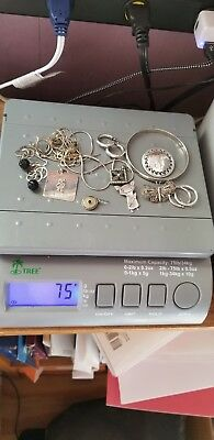 Lot of Sterling SIlver Jewelry Scrap or Not 75 Grams