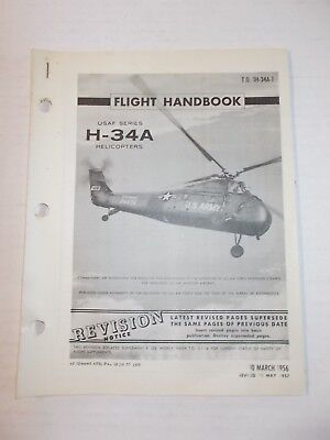 REVISIONS ONLY Technical USAF H-34A Helicopter Flight Handbook