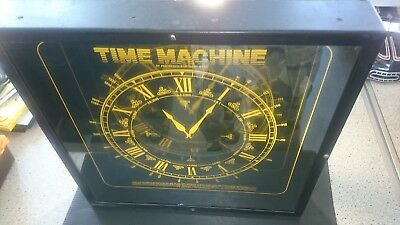 Perception Electronics The Time Machine Wells Spielhalle Uhr Leuchtreklame Lampe