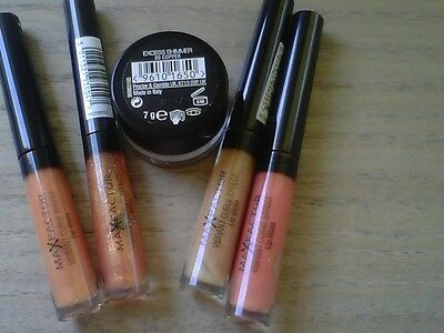 LOTTO STOCK GLOSS E OMBRETTO MAX FACTOR + campioncini