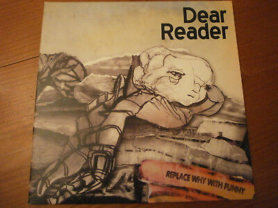 Dear Reader. Replace why with funny. LP, Vinyl.