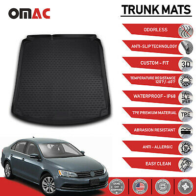 VOLKSWAGEN JETTA SD Rear Cargo Trunk Floor Mat Molded Boot Tray Liner 2011-