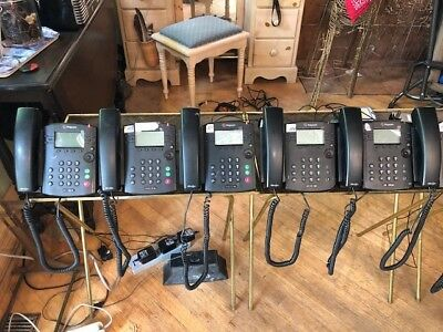 Used Polycom vvx310 business phone. Six phones available.