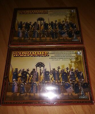 2x GW Khemri Tomb Kings Skelettkrieger Gruftkönige Skeleton Warriors
