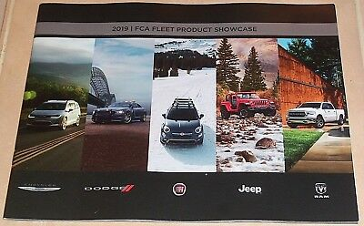 2019 Fca Fleet Fiat Chrysler Jeep Dodge Dealer Sales Catalog Brochure