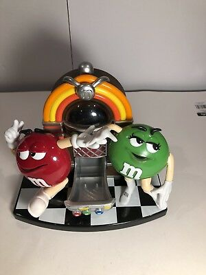 M&M's Rock' n Roll Jukebox Candy Dispenser Vintage Collectible, Mars Candy, Inc.