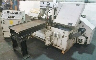 "MARVEL #15A  16"" x 20"" Horizontal Band Saw - Auto Feed"
