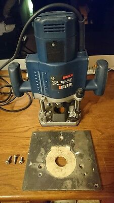Bosch router gof 1700 ace 240v used.