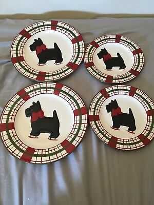 Scottie Dog Plaid Global Design Connections Kate Williams 2 Dinner 2