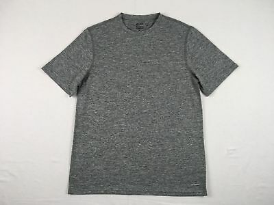 Champion - Gray Poly Short Sleeve Shirt (M) - Used