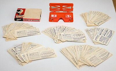 Sanitarium Weetbix - 3-D Viewascope with Original Box and 150+ Stereo Cards