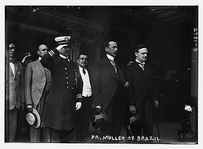 Dr Lauro Severiano Muller,1863-1926,Foreign Minister of Brazil,military engineer