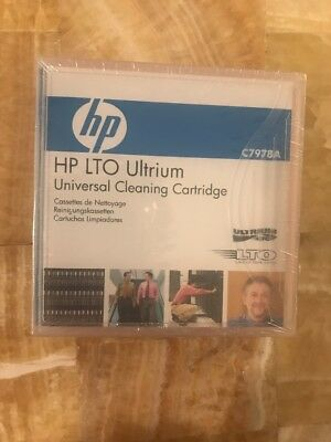 Hp LTO Ultrium LTO Cleaning Cartridge Tape C7978A