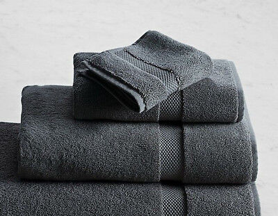Restoration Hardware 802 Gram Turkish Cotton Bath Towel Set In Iron