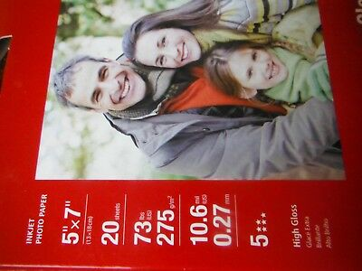 Canon Photo Paper Plus Glossy Ii Pp 201 New Sealed 20 Sheets 8 X 10
