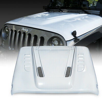 Xprite Beast Series Jeep Wrangler Front Fiber Glass Hood For JK JKU 2007-2018