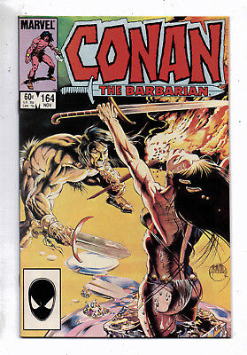 Conan the Barbarian #164(VF+) and #165(VF), Marvel, 1984