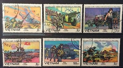 World Stamps Vietnam 1984 Battle Died Bien Pho Fine Used Stamps (B4-3a)