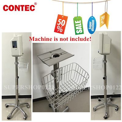 USA fedex Rolling stand big wheel for Portable Contec ICU Patient monitor