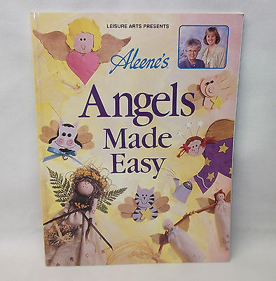 Leisure Arts Craft BOOK Aleene's Angels Made Easy c1997 softcover MINT