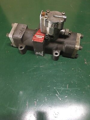 Valvair L545-89-102 Solenoid Operated Air Valve, 120V Coil, Used