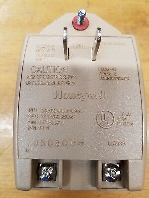 Honeywell Ademco 1321 Plug In Transformer 16.5VAC 25VA
