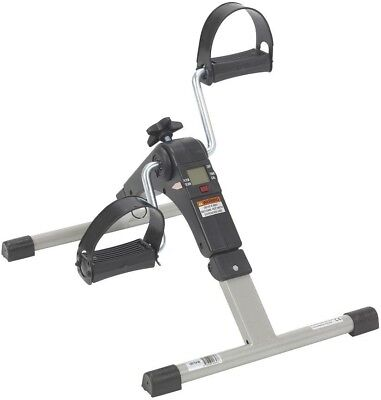 Drive New Digital Leg Fitness Folding Exercise Peddler with Electronic Display