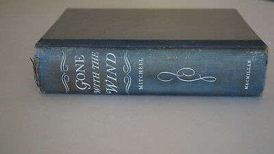 Gone With the Wind Mitchell, Margaret Hardcover 1st 1936 BCE Worn