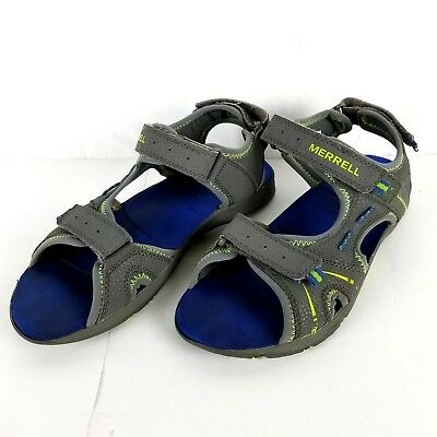 4c8db263930f MERRELL PANTHER SANDAL. Grey  Turquoise. Big Kids Size 01M. BRAND ...
