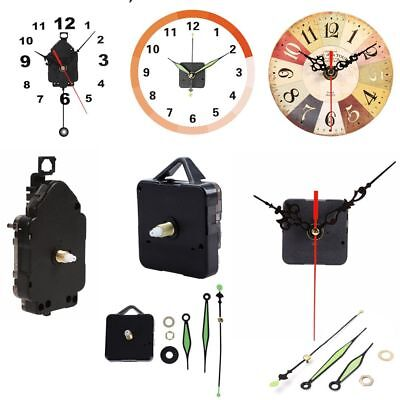 Accessories Clock Movement Mechanism Parts + Hands Pendulum Repair Replacement