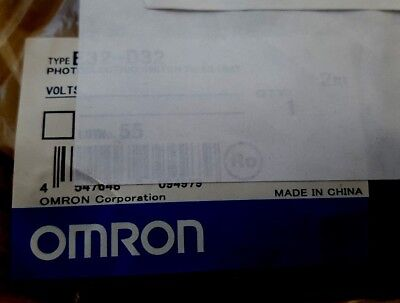 Omron E32-D32 Photoelectric Fiber-Optic Sensor Cable (Br2.2B16)