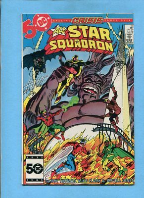 All-Star Squadron #54 JSA DC Comics February 1986 Crisis Crossover NM