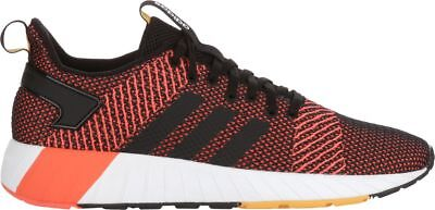 adidas Men's Questar BYD Shoes in Sizes 6.5 to 15 in Black/Red
