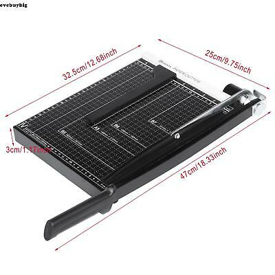 18 Inch A4 to B7 Heavy Duty Guillotine Paper Cutter Photo Trimmer Booking Blade