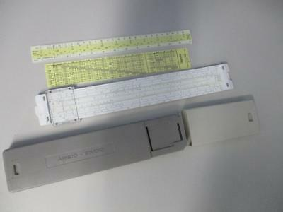 Vintage Aristo Studio Slide Rule No 0968 in Original Case Made in Germany N/Mint