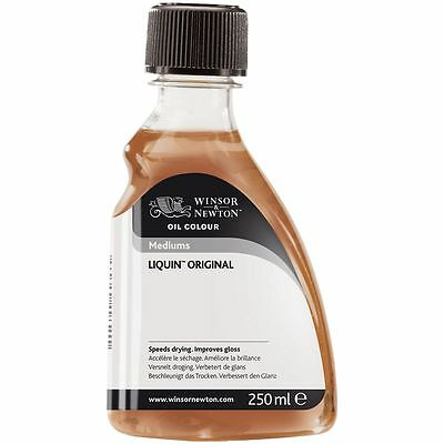 Winsor & Newton Liquin Original - Fast Drying Oil Medium 250ml. For Oil Painting