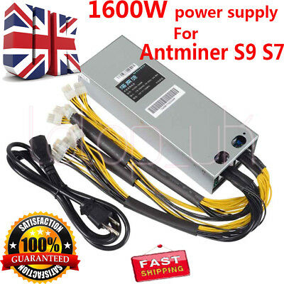 BITMAIN Antminer APW3 PSU Power Supply Cord Cable HEAVY AWG14 BTC L3 D3 S9 6FT