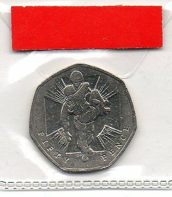 GREAT BRITAIN 50p pence coin 2006 150th Anniversary of the Victoria Cross No.2
