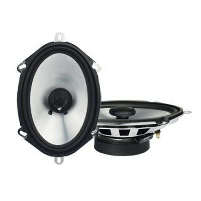 "Caliber CSP57 5x7"" 2-way coaxial speakerset Silver/Grey 180w Max / 50W RMS"
