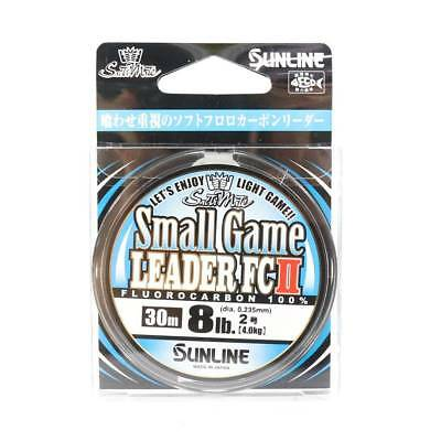 Sunline Fluorocarbon Small Game Leader FC II 30m 8lb (8010)