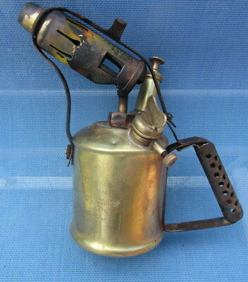 Vintage Blowtorch Brass Companion Brand Made in Australia
