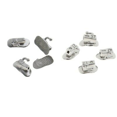 80 Pieces Stainless Steel Roth First and Second 1st 2nd Molar Buccal Tube