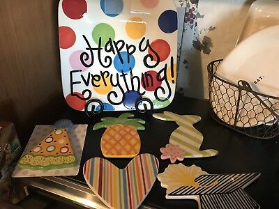 happy everything Mini Plate and 5 attachments