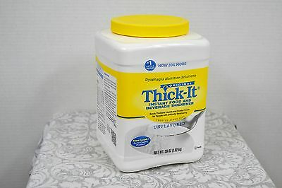 Original Thick-It Regular Strength Instant Healthcare Unflavored Food Thickener
