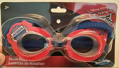 cbfa0cba81a8 Swimways Disney PIXAR Cars 3 Lightning McQueen Swim Goggles for Ages 3+ NEW