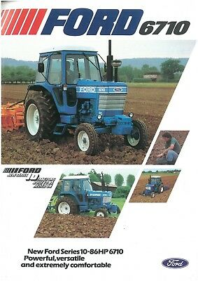 Ford Tractor 6710 Brochure