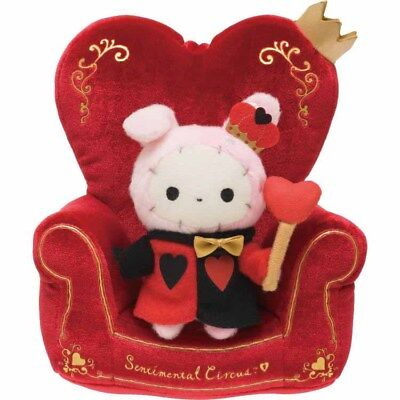 Shappo Plush Doll Stand Sentimental Circus Alice & Queen of Heart San-x Japan